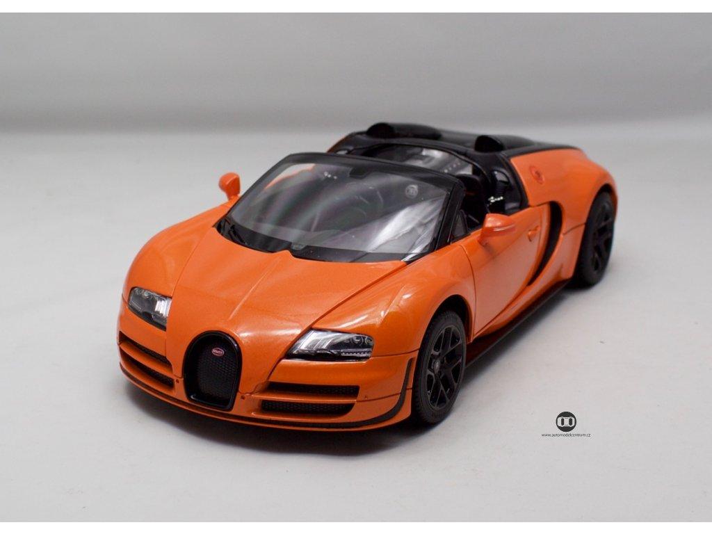 Bugatti 16.4 Grand Sport Vitesse 2014 oranzova 1 18 Rastar 43900 01