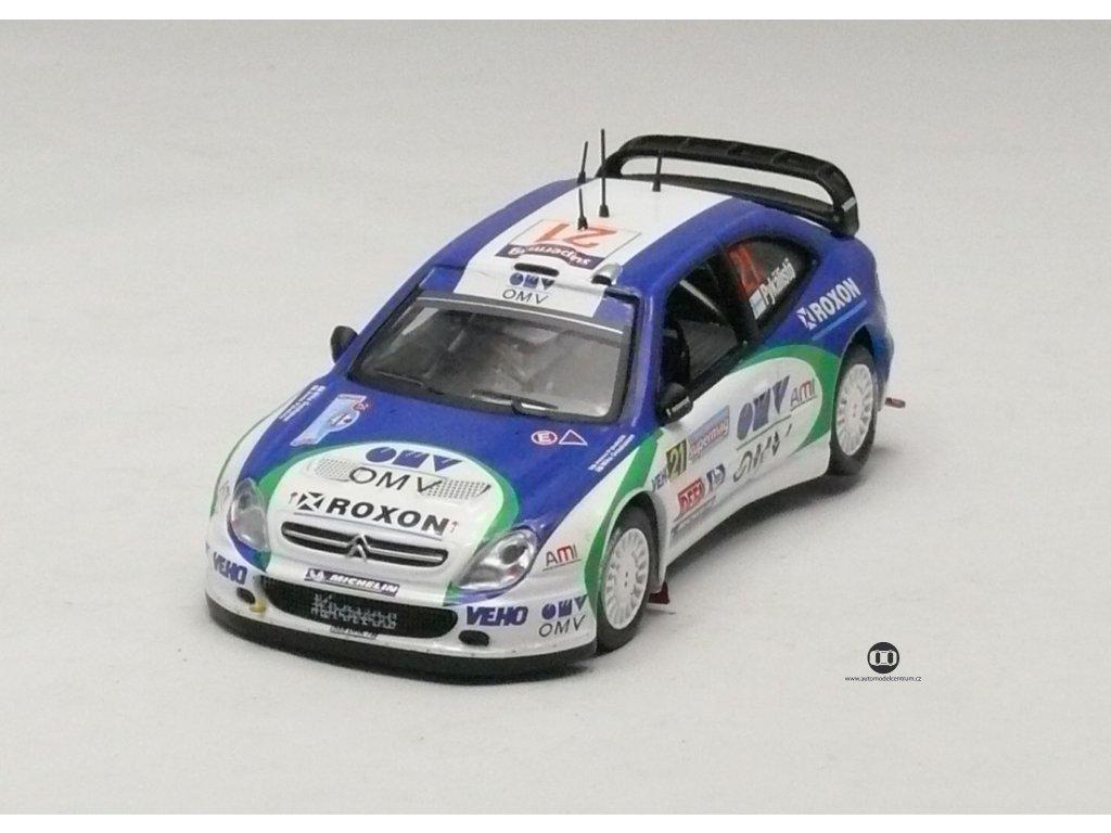 Citroen Xsara WRC # 21 Rally Italia 2005 1:43 IXO