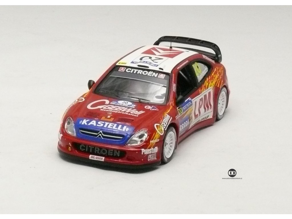 Citroen Xsara WRC # 20 Rally Finland 2006 1:43 IXO