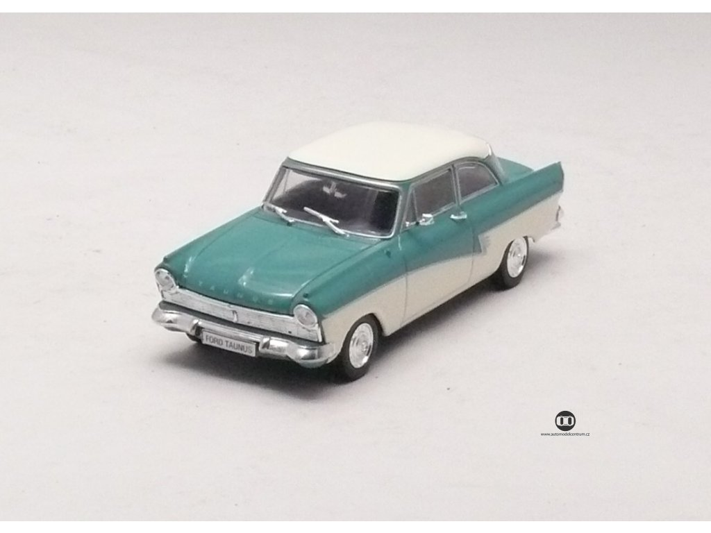 Ford Taunus 17M zeleno - béžová 1:43 Car Selection