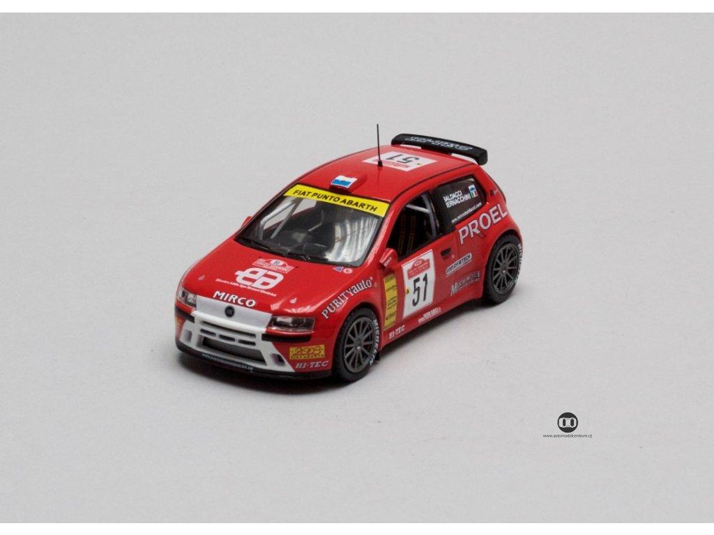 Fiat Punto S1600 # 51 Sanremo 2003 1:43 Champion