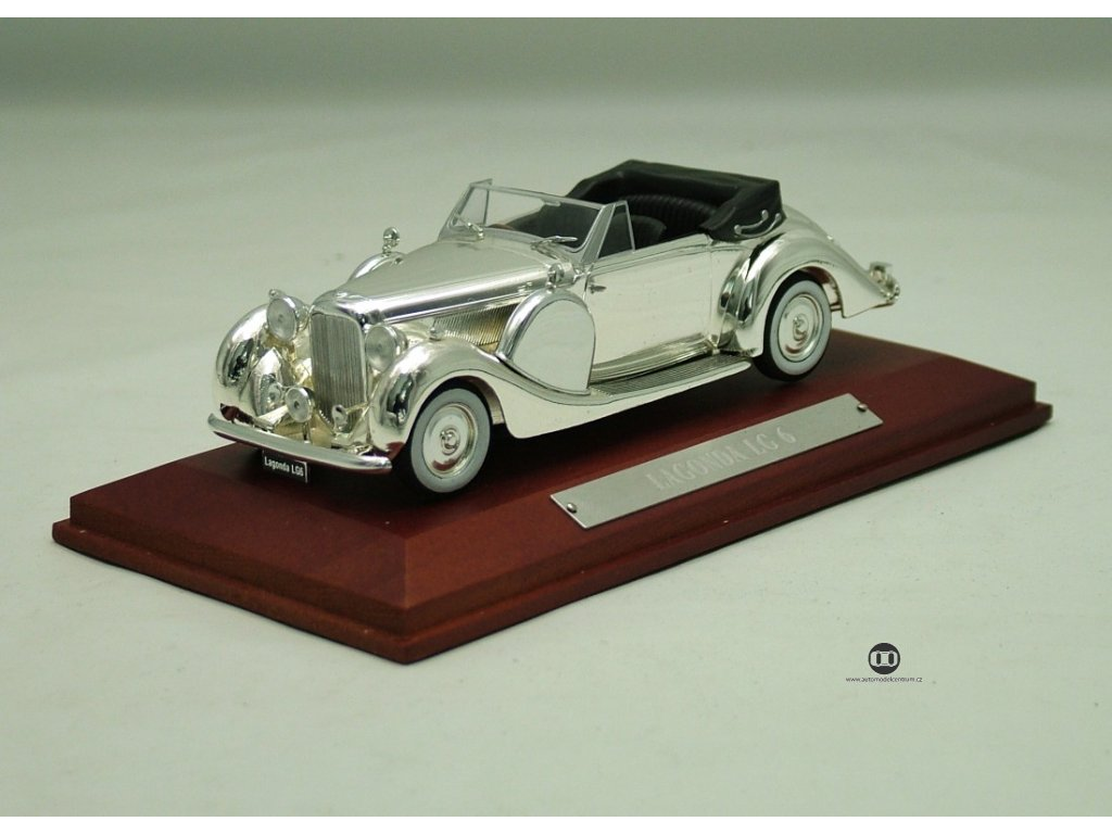 Lagonda LG 6 1937 chrom 1:43 DeAgostini