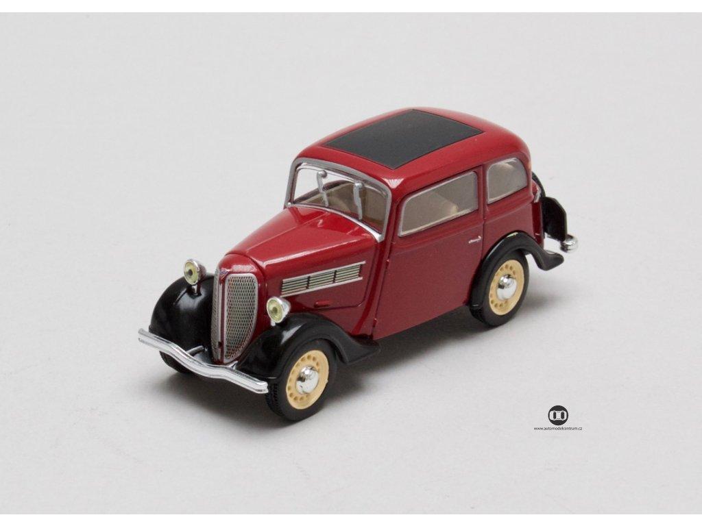 Rosengart Super 5 LR4N 1937 vínová 1:43 Champion