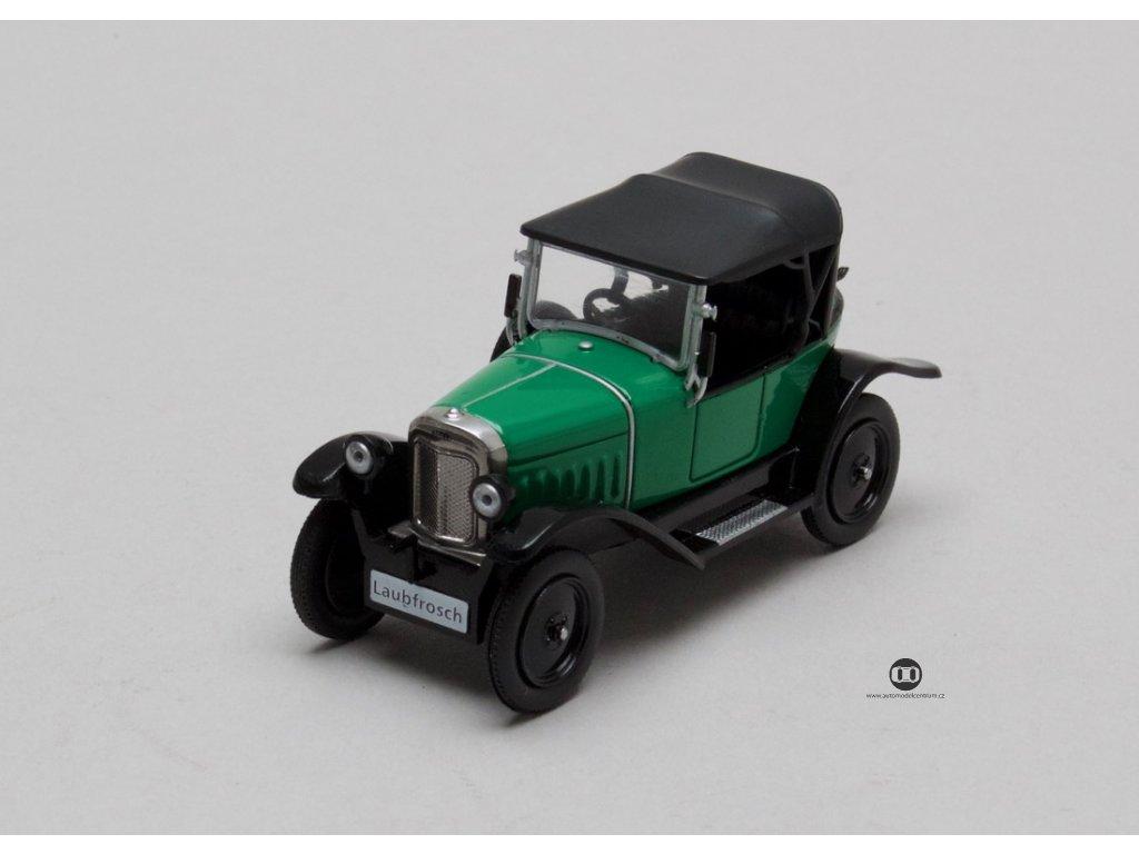 Opel 4-12 PS Laubfrosch 1924 zelená 1:43 Champion