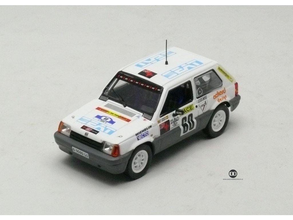 Seat Marbella Copa Rally de Tierra 1991 # 60 1:43 Champion