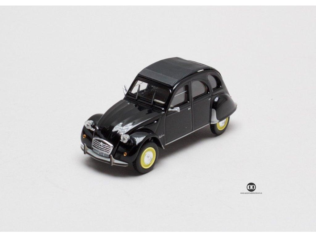 Citroen 2CV Katia černá 1:43 Norev - Hachette Collections