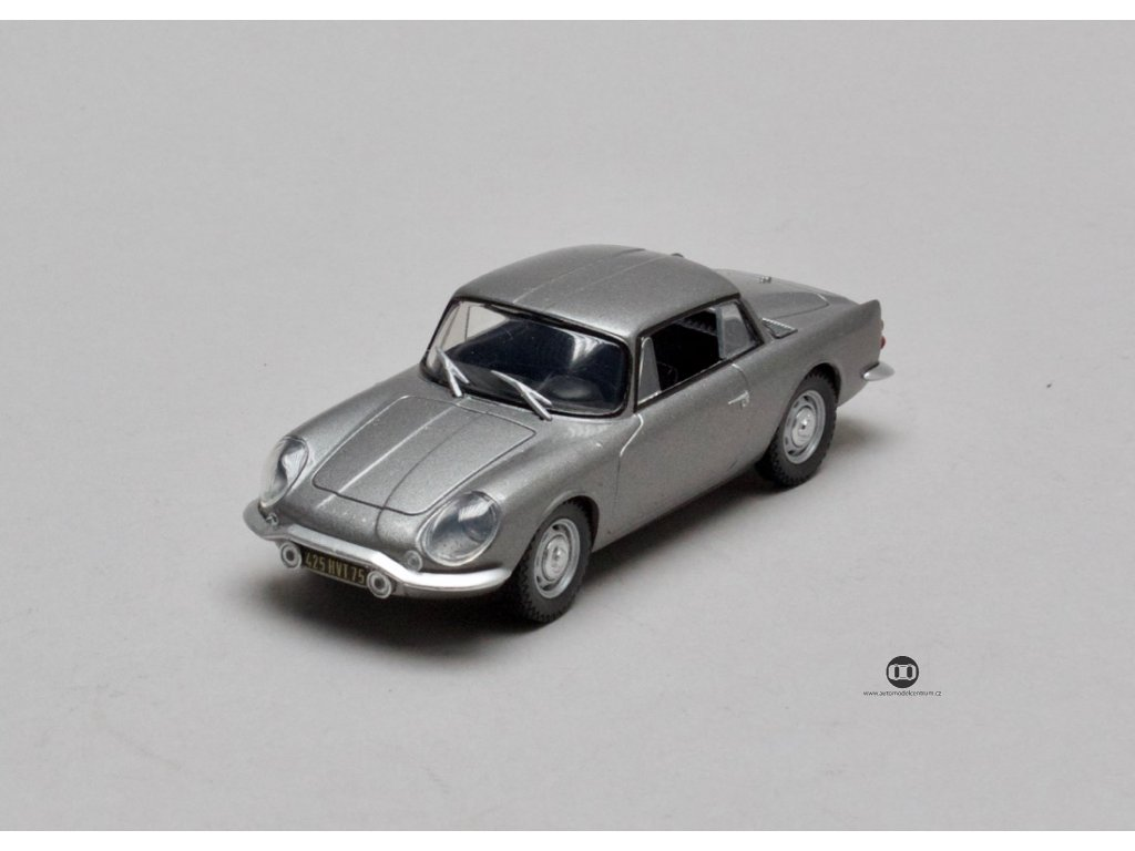 Renault Alpine Coupé 2+2 1961 stříbrná 1:43 Car Selection
