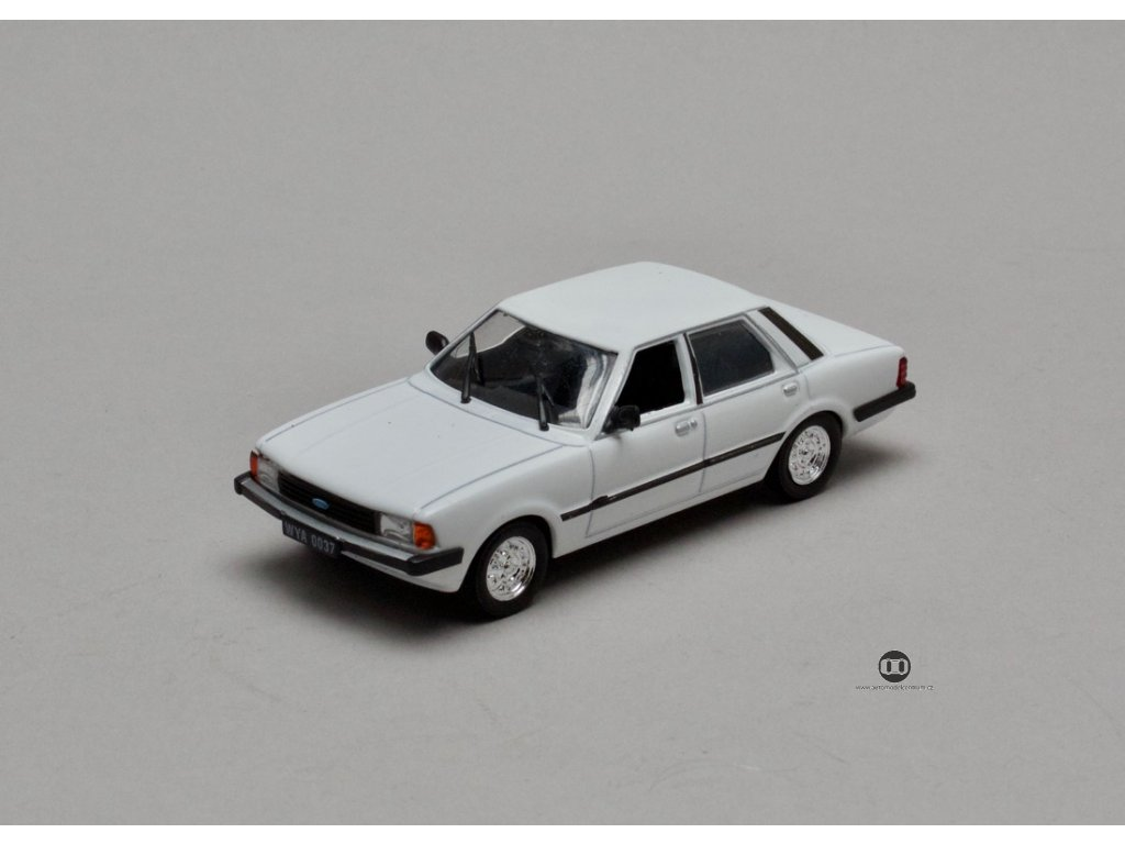 Ford Taunus MK III 1981 bílá 1:43 Car Selection