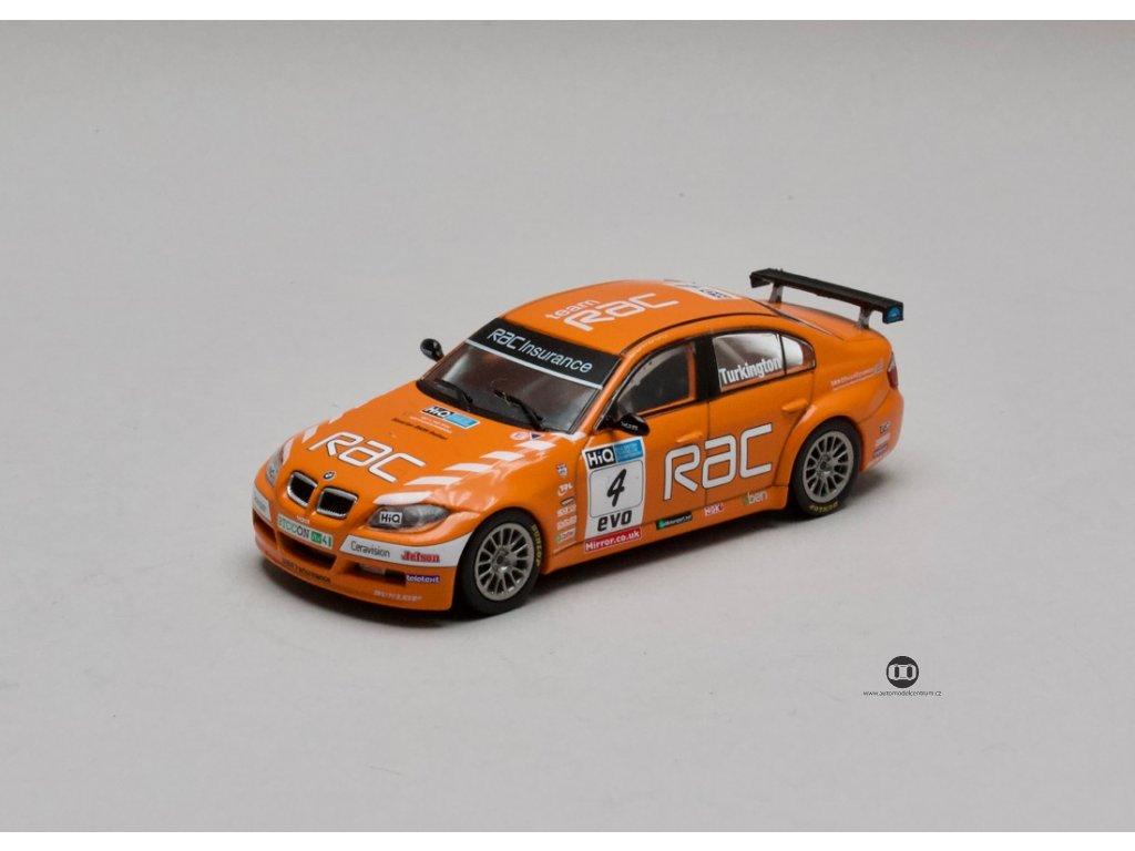 BMW 320Si E90 #4 BTCC Champion 2009 1:43 Atlas