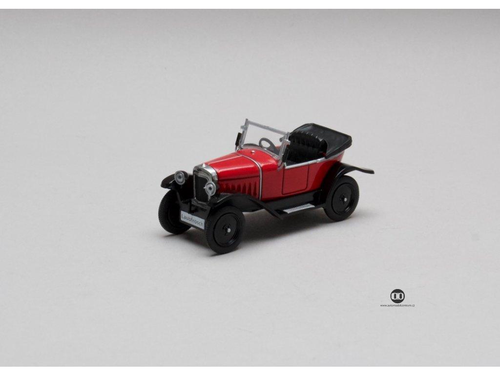 Opel 4-12 PS Laubfrosch 1924-1926 červená 1:43 Champion