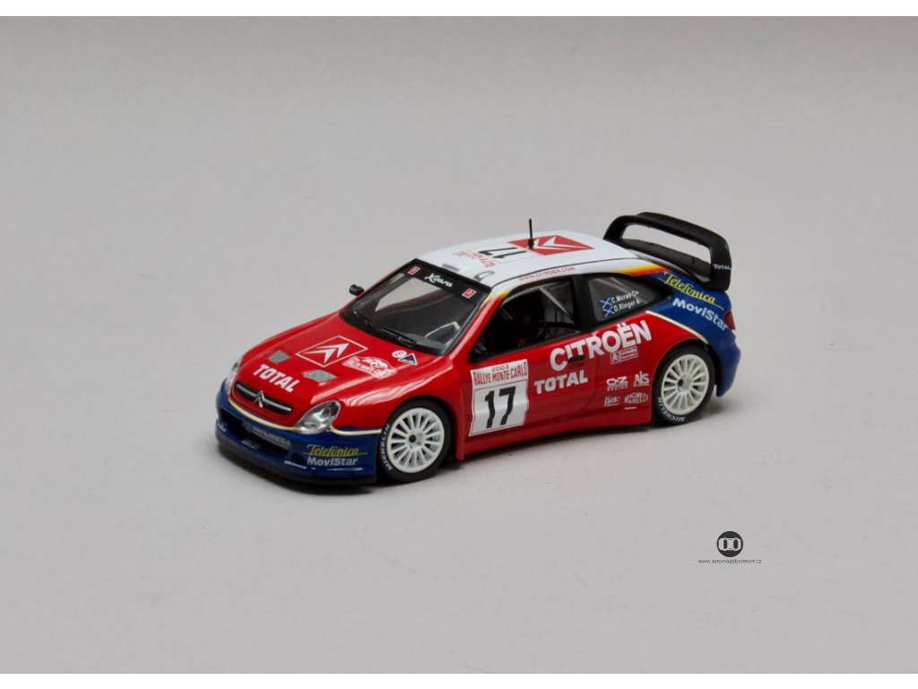 Citroen Xsara WRC #17 Monte Carlo 2003 1:43 Champion
