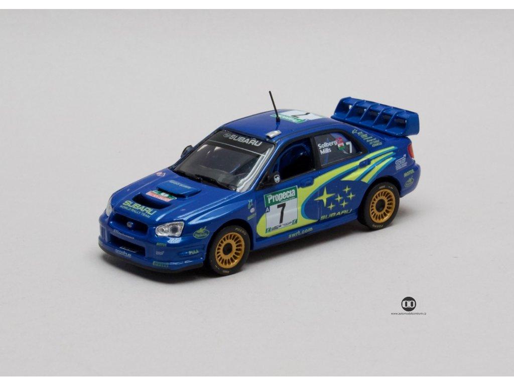Subaru Impreza WRC #7 Rally New Zealand 2003 1:43 Champion