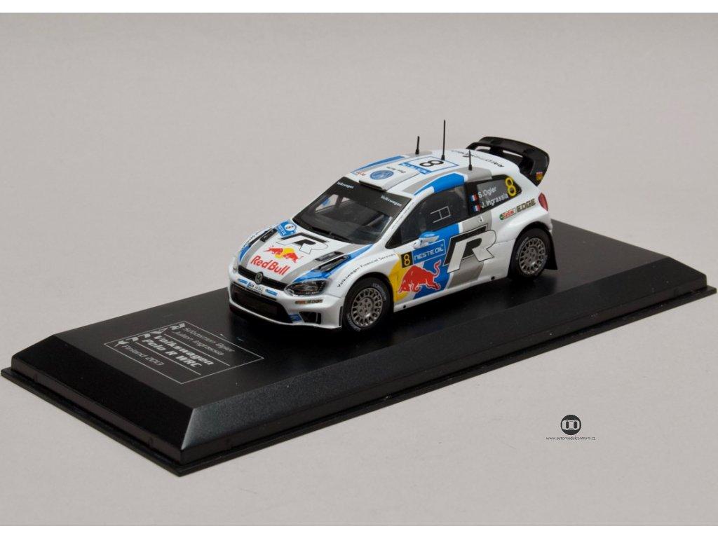 VW Polo R WRC #8 Rally Finland 2013 1:43 IXO Champion