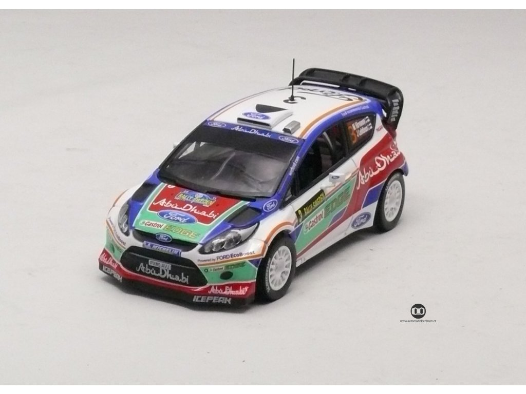 Ford Fiesta RS WRC #3 Rally Sweden 2011 1:43 Champion