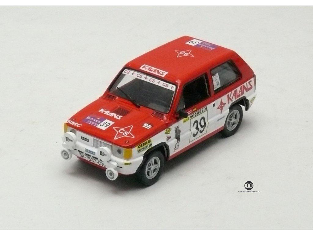 Seat Panda Gr.2 Rally de Asturias 1981 # 39 1:43 Champion