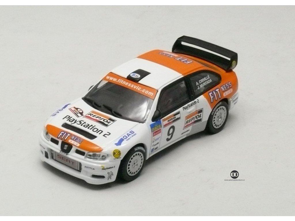 Seat Cordoba WRC Evo III de Ourense 2005 # 9 1:43 Champion
