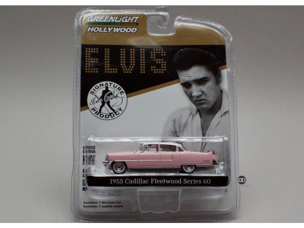 Cadillac Fleetwood Series 60 1955 Elvis 1:64 Greenlight