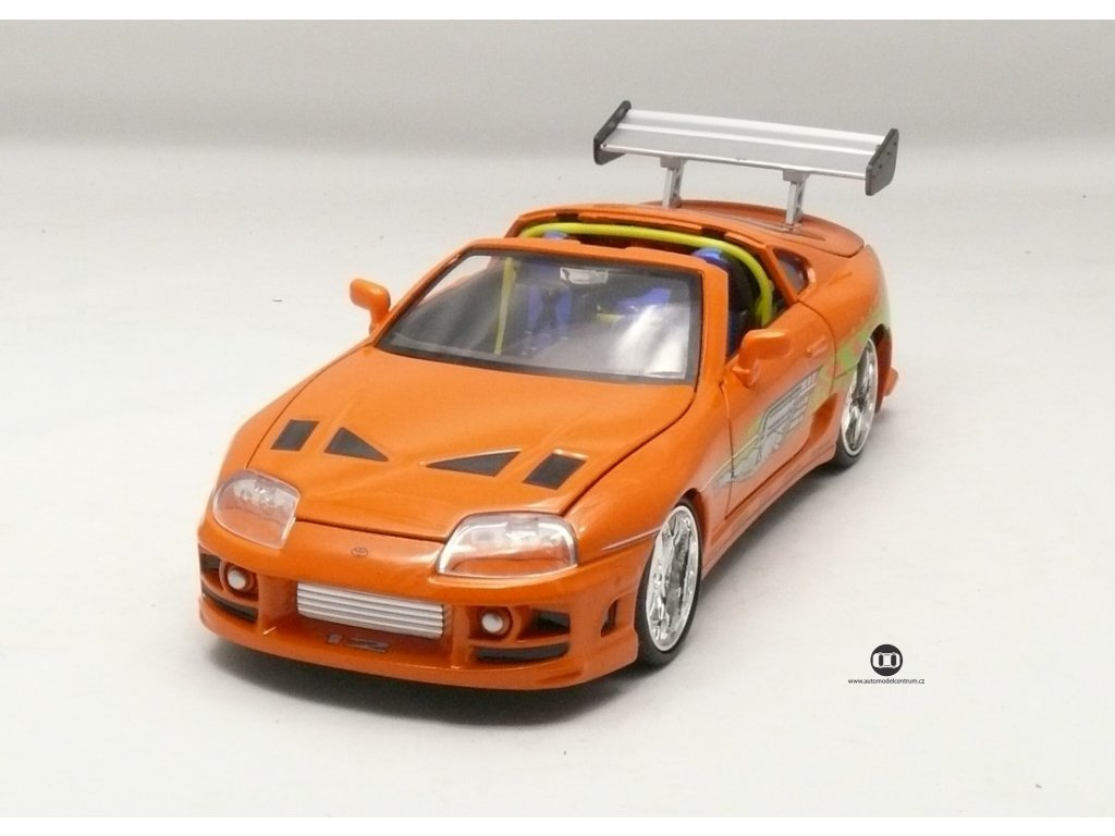 Toyota Supra 1995 Rychle a zb. 1:24 Jada Toys