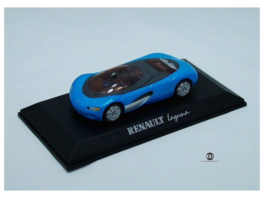 Renault Laguna Concept modrá 1:43 Altaya