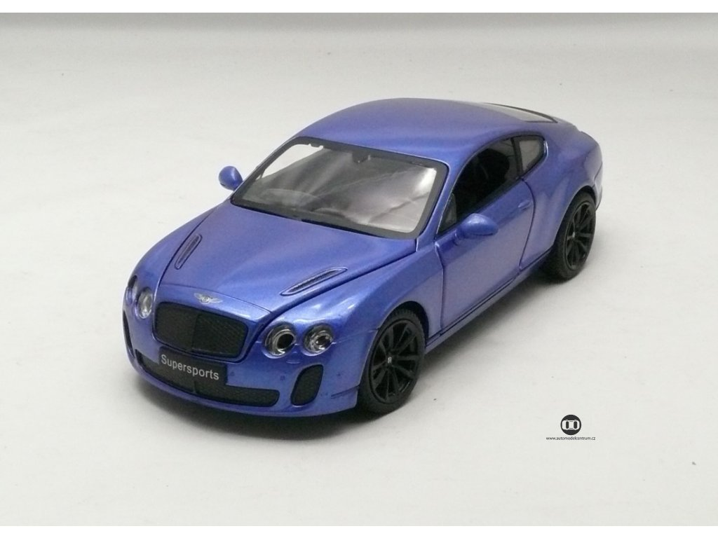 Bentley Cont. Supersport Coupe 2013 modrá 1:24 MZ Model
