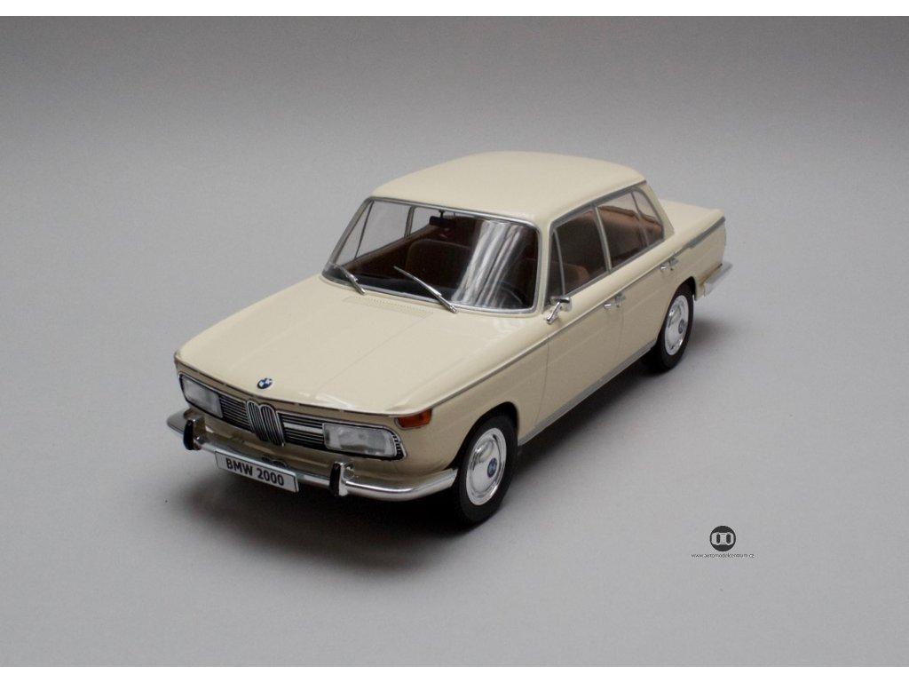 BMW 2000 Ti 1966 (type 120) béžová 1:18 MCG