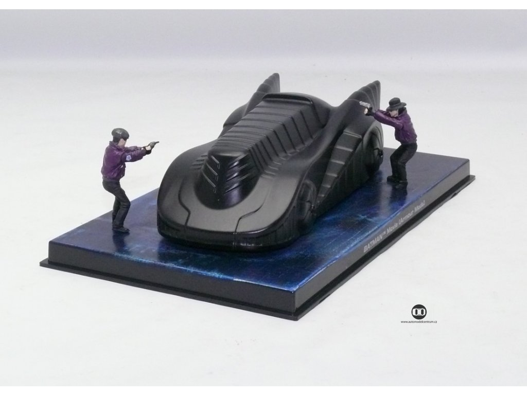 Batman Batmobile Armour mode film z 1989 1:43 Champion