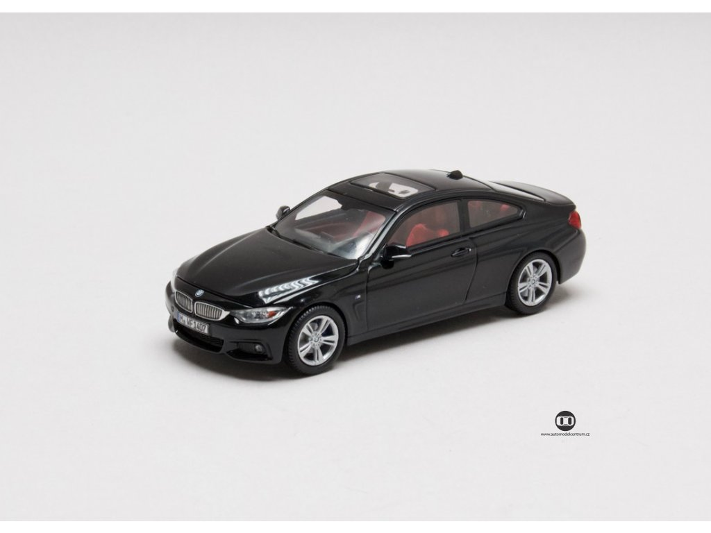 BMW 4 Series Coupé černá (F32) 1-43 i-scale