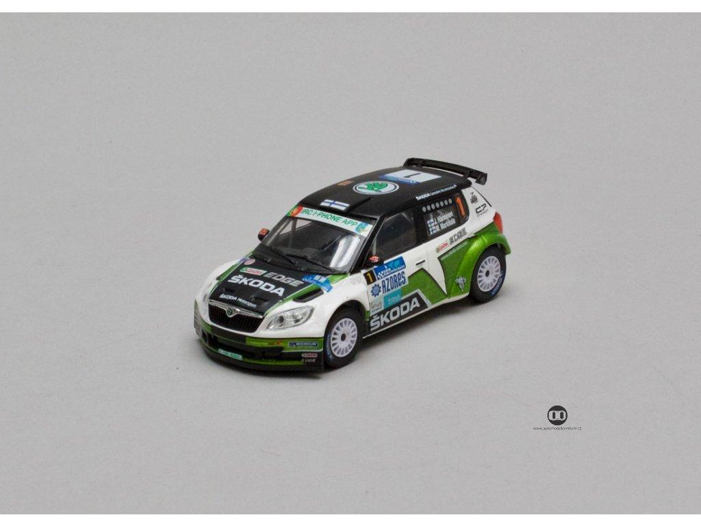 Škoda Fabia S2000 Facelift 2010 #1 Acores 2012 1 43 Abrex 143XAB 604TP 01