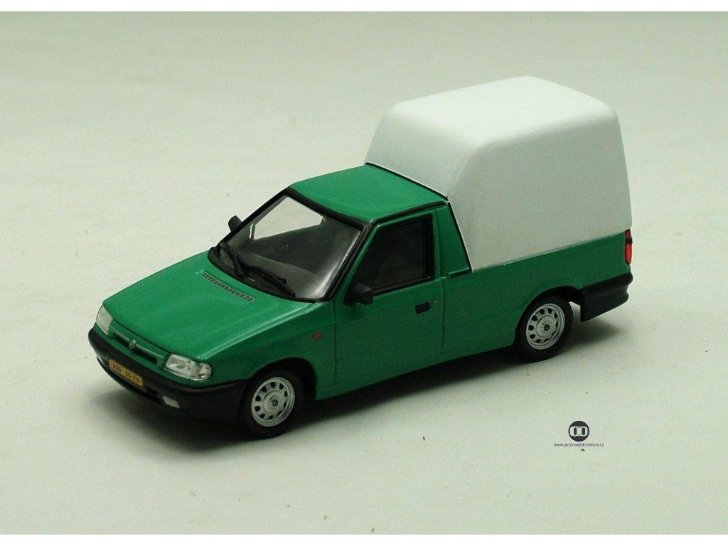 Škoda Felicia Pickup 1996 zelená 1:43 Abrex