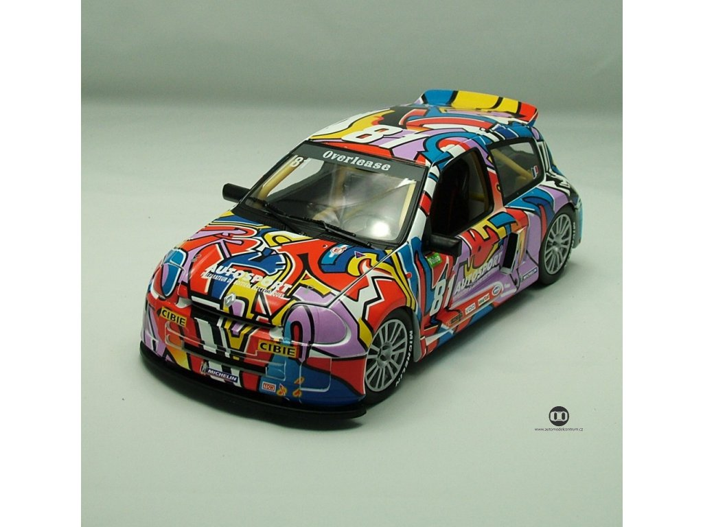 Renault Sport Clio Trophy V6 2000 # 81 Autosport 1:18 Universal Hobbies