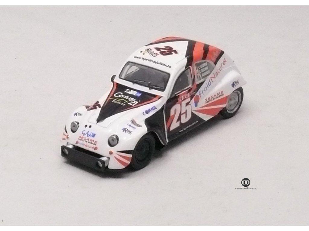 Citroen 2CV # 25 Racing 1:43 Car Selection