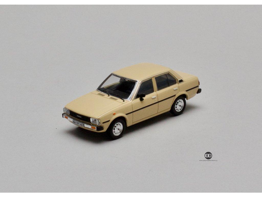 Toyota Corolla E70 1979 béžová 1:43 Prémium X