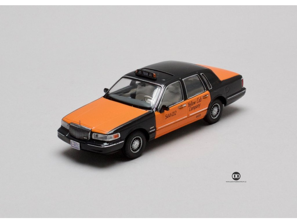 Lincoln Town Car 1996 USA Taxi 1:43 Prémium X