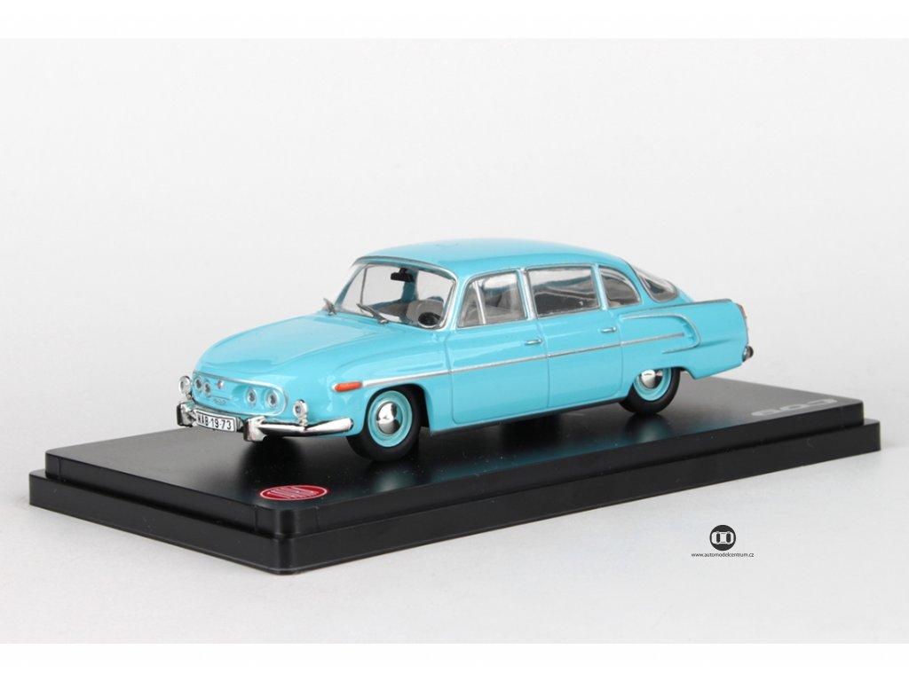 Tatra 603 1969 modrá světlá šedivý interier 1:43 Abrex