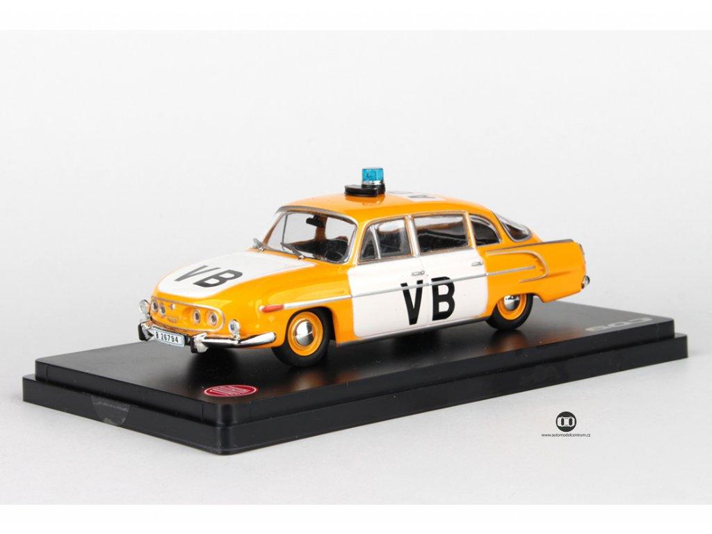 Tatra 603 1969 Veřejná Bezpečnost černý interier 1:43 Abrex