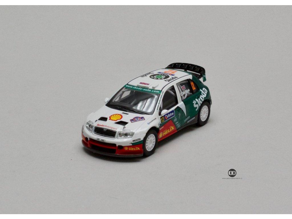 Škoda Fabia WRC EVO II #12 Australia 2005 1:43 Abrex