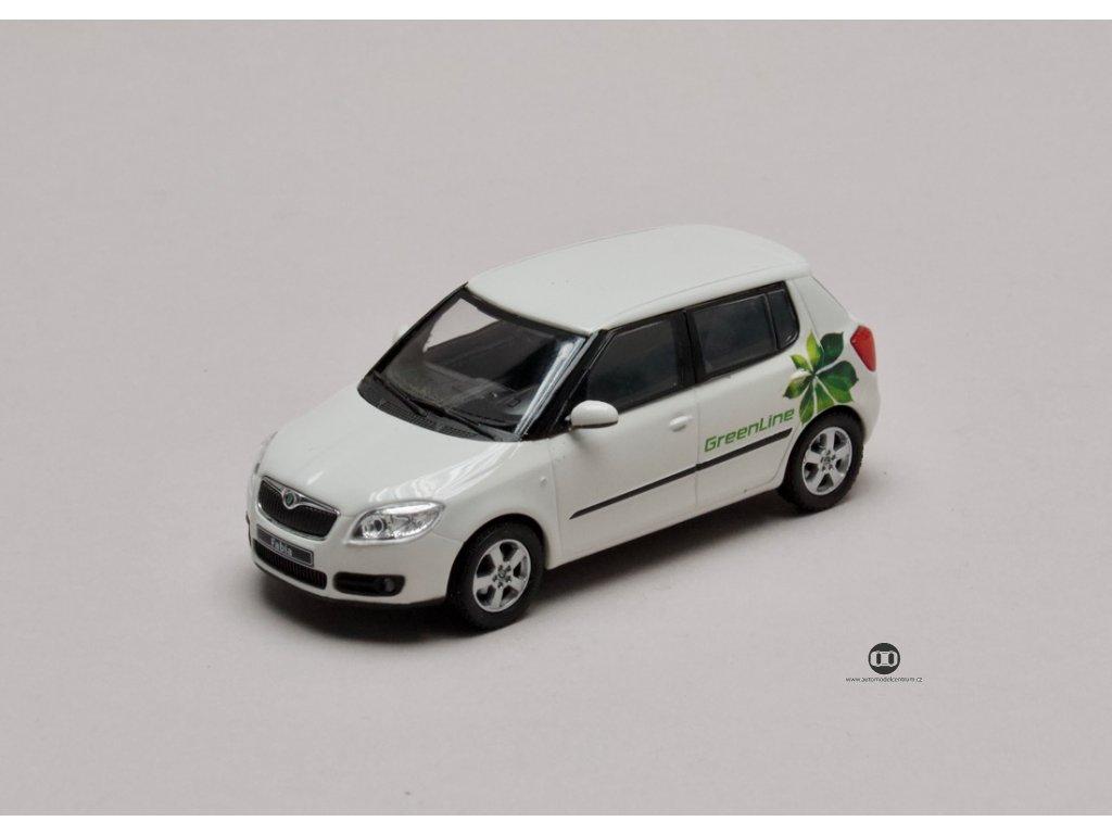 Škoda Fabia II 2006 GreenLine 1:43 Abrex