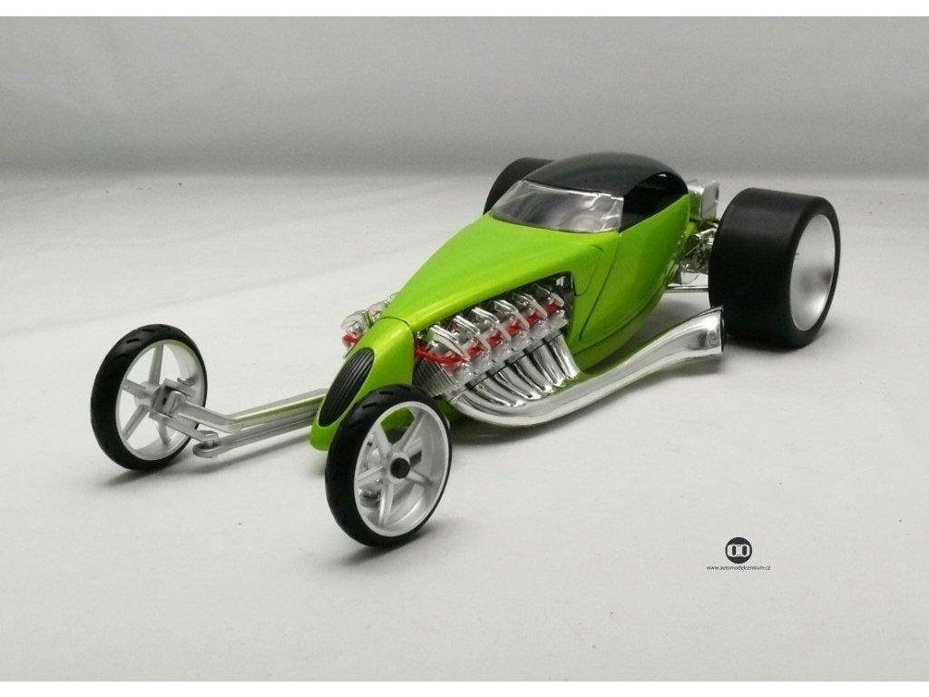 Hot Rod Slightly Modified zelená 1:18 Hotwheels