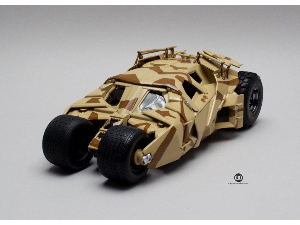 Batmobile Batman Tumbler Camouflage deco 1:18 Hotwheels