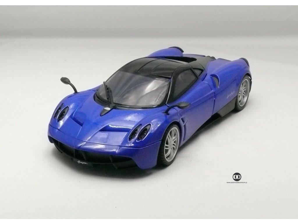Pagani Huayra 2013 modrá 1:18 MotorMax