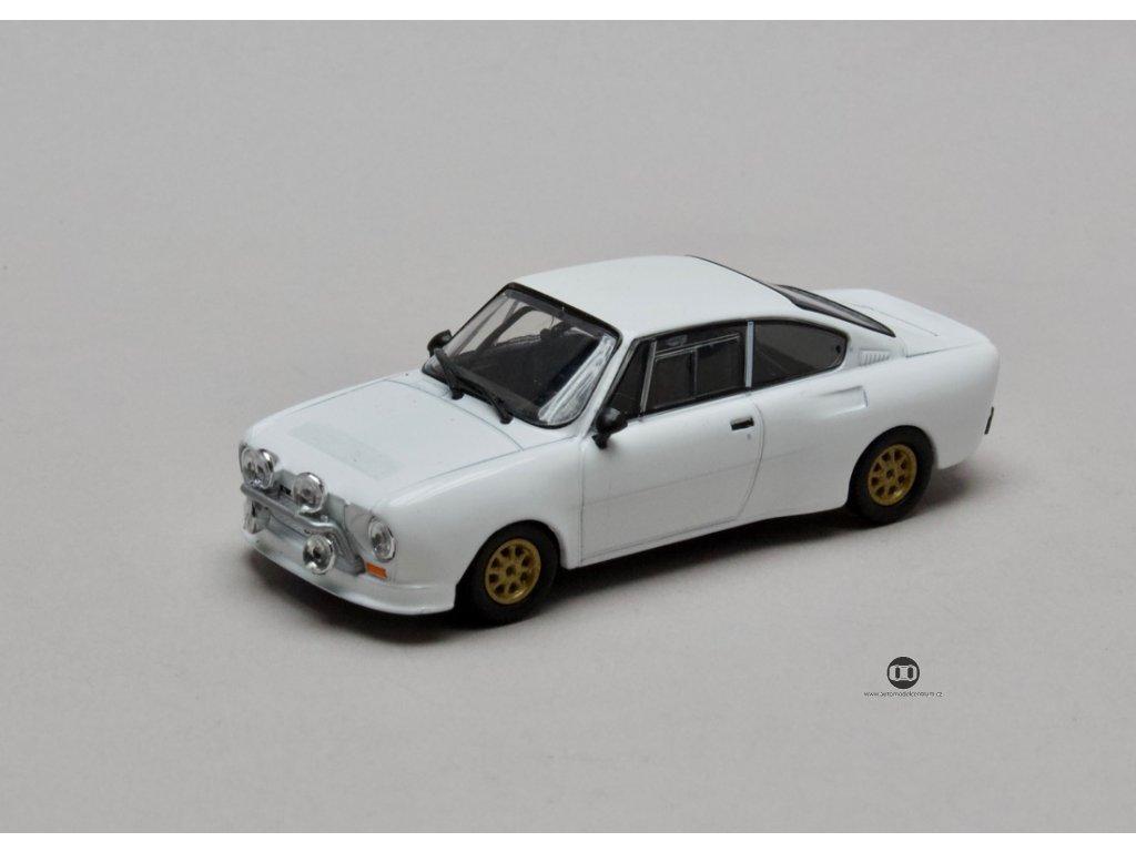 Škoda 130 RS 1977 bílá 1:43 Abrex