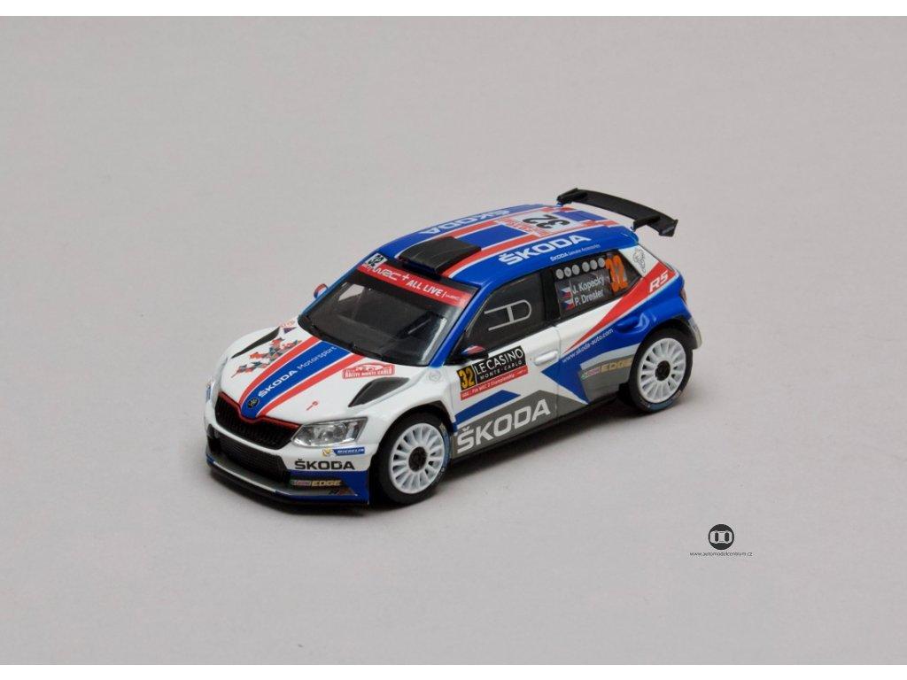 Škoda Fabia III R5 2015 #32 Rallye Monte Carlo 2018 1:43 Abrex