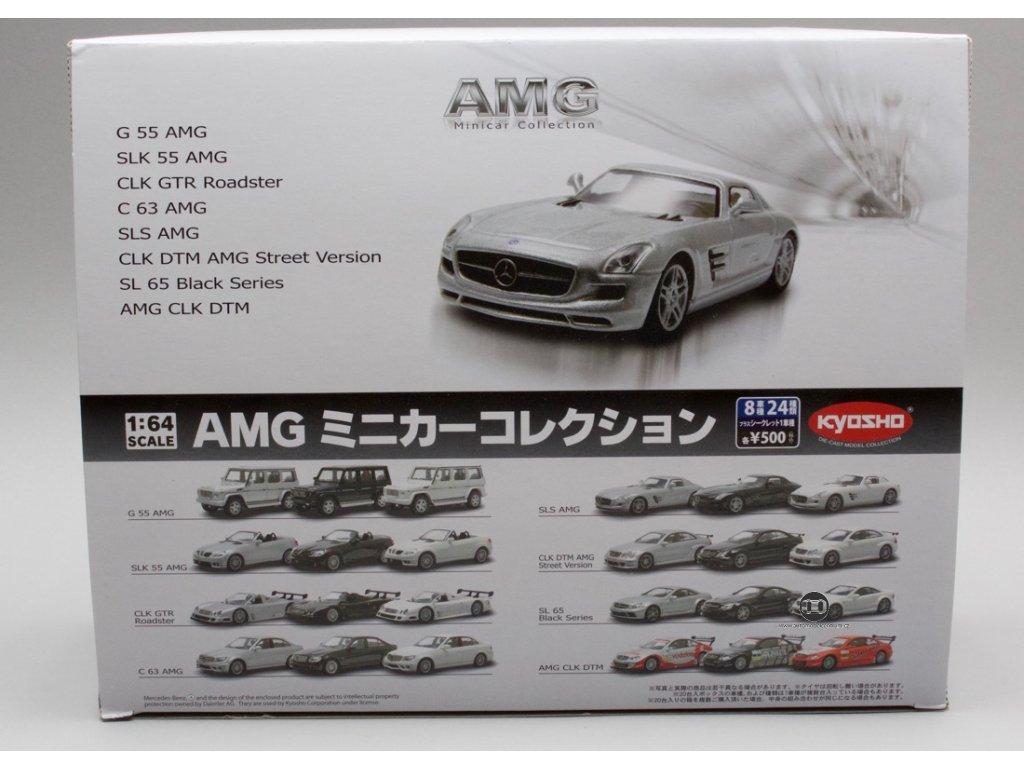 Mercedes-Bemz AMG výběr 20 kusů 1:64 Kyosho