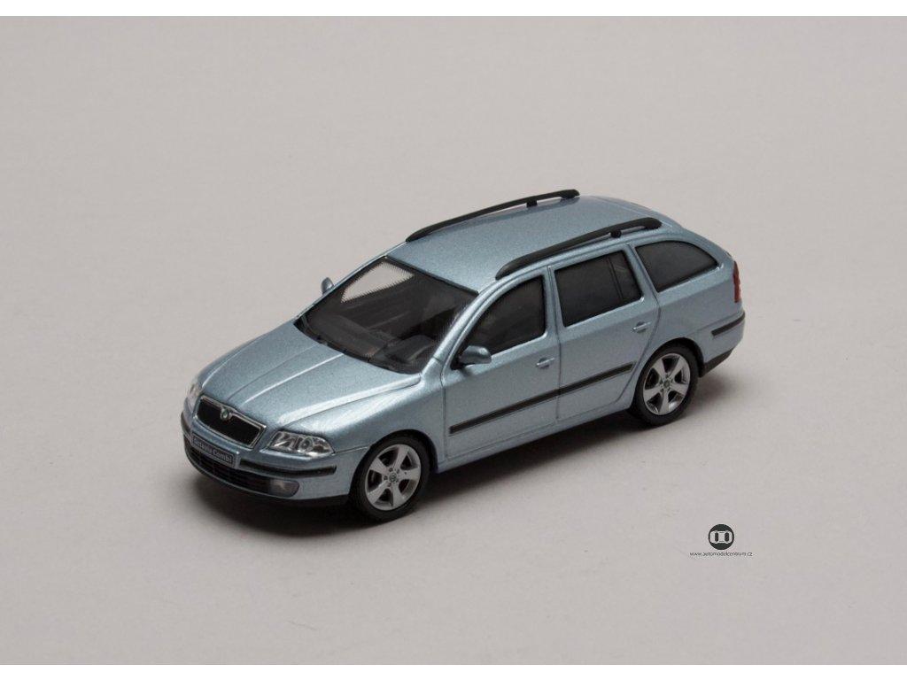 Škoda Octavia II Combi 2004 šedá Stone 1:43 Abrex