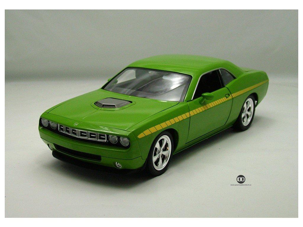 Plymouh Concept Cuda 2009 zelená 1:18 Highway 61