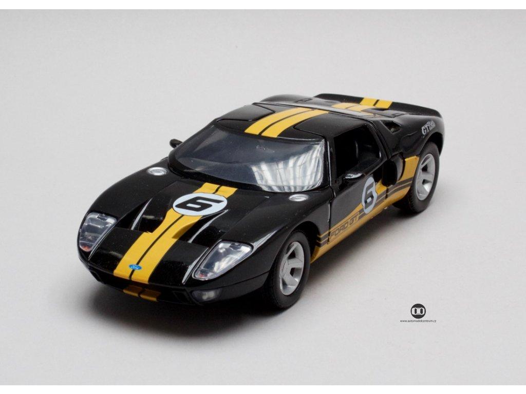 Ford GT Concept # 6 2005 černá 1:24 Motor Max