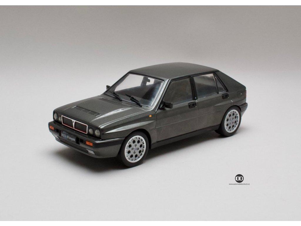 Lancia Delta HF Integrale 16V 1989 šedá 1:18 Triple 9 Collection