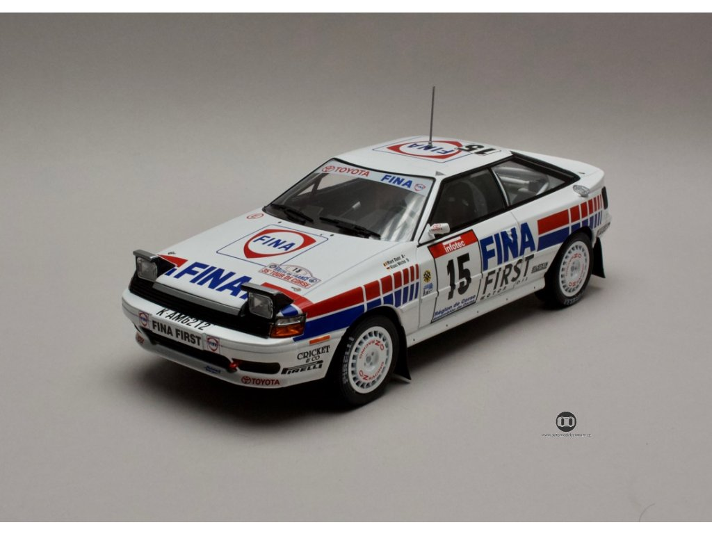 Toyota Celica 1991 #15 Tour de Corse 1:18 Triple9 Collection