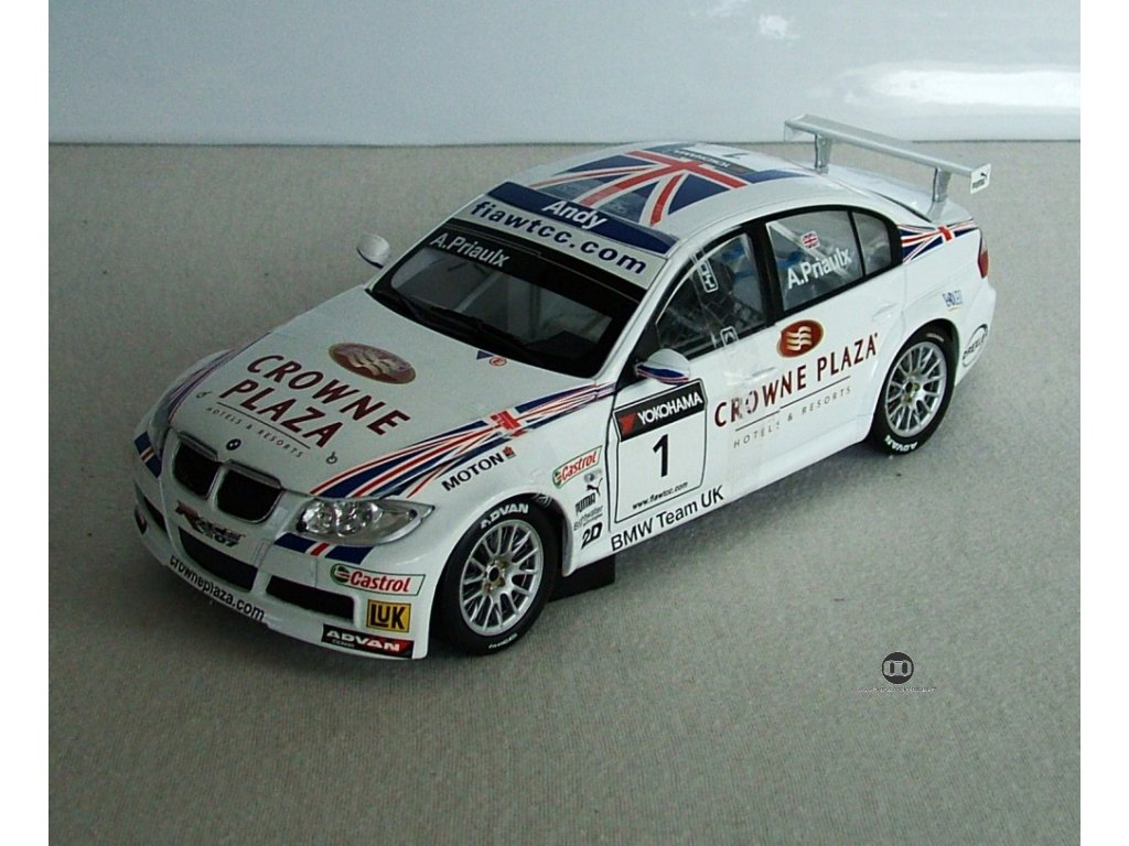 BMW 320si ETCC ''Andy Priaulx'' # 1 1:18 Guiloy