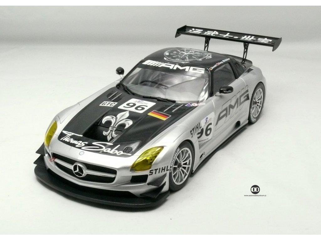 Mercedes-Benz SLS AMG GT3 # 96 2011 1:18 Minichamps